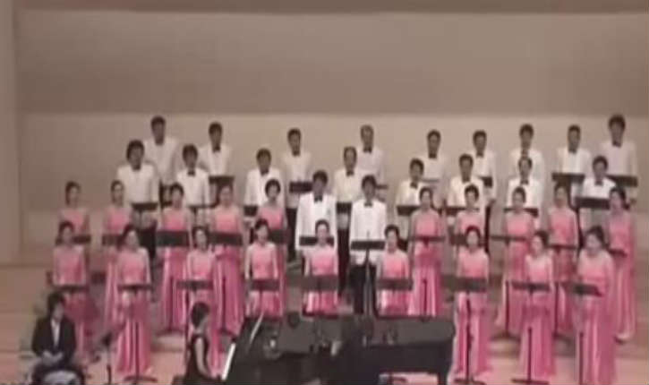[Vidéo] La chorale de Corée du sud interprète des chants israéliens
