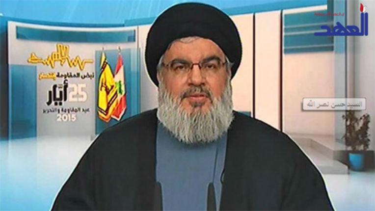 Nasrallah menace Israël « Plusieurs missiles lancés d'ici sur les containers d'ammoniaques à Haïfa, auront le même effet qu'une bombe nucléaire »