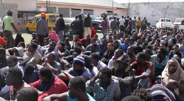 [Vidéo] Libye: 400 migrants arrêtés avant d'embarquer pour l'Europe
