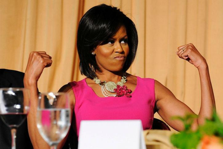 Michelle Obama louait l'humanisme de l'Ogre d'Hollywood, Weinstein