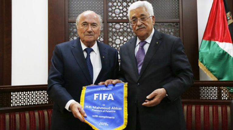 Le chantage des Arabes de Judée-Samarie contre la FIFA