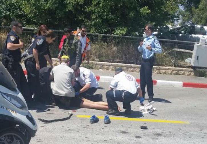 Attentat à l'arme blanche à Jérusalem
