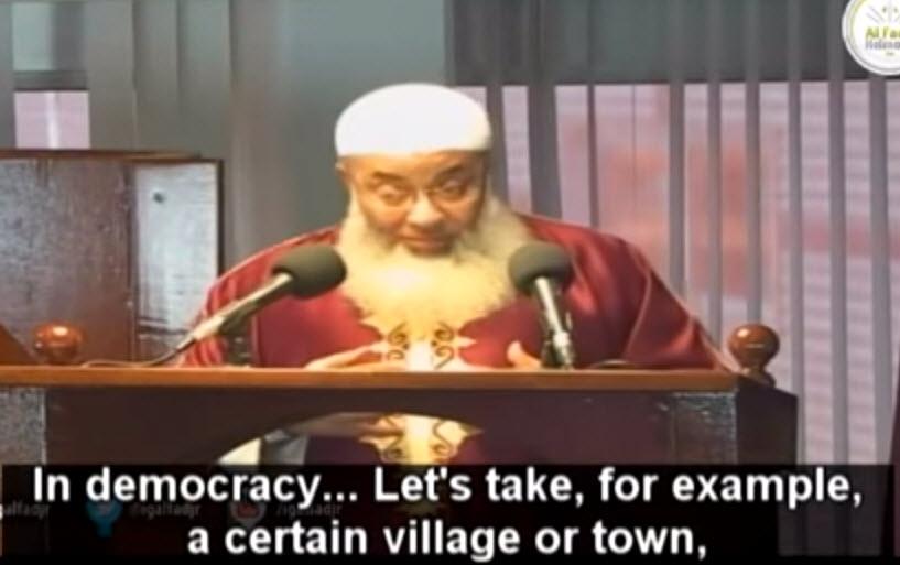 Lors de son sermon un imam néerlandais fustige la démocratie : «les Européens n'ont pas encore goûté à ses malheurs»