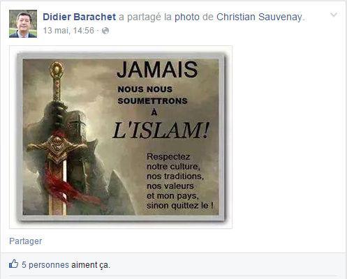 maire anti-islam