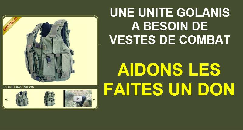 Appel aux dons : Une nouvelle unité de parachutistes a besoin de vestes de combat. Aidons-les, faites un don !