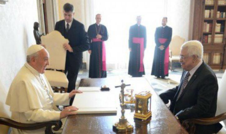 Mahmoud Abbas au Vatican. Ce que le Pape lui a vraiment dit (non, il n'a pas dit « ange de la paix ») !