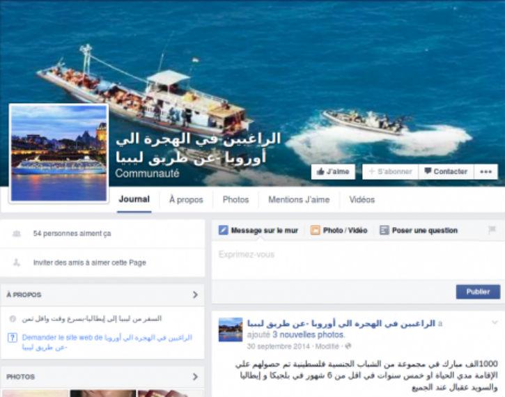 Migrants : trouver un passeur sur Facebook, c'est pas sorcier