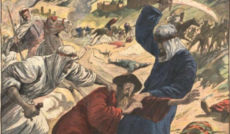 Une longue liste de pogroms anti-chrétien ou anti-juif en terre d'Islam…