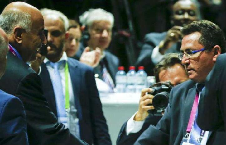 Israël déjoue le hors-jeu palestinien à la Fifa