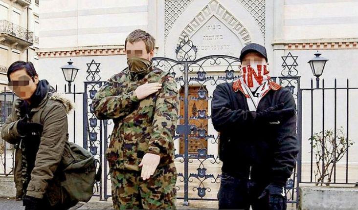 Genève: Punis avec sursis pour une quenelle devant la synagogue