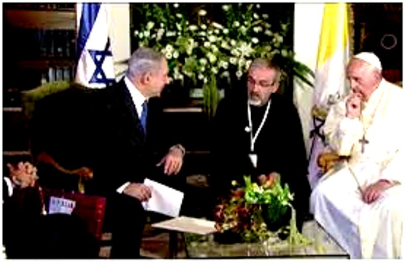 [Vidéo] – Le Vatican et l'Etat Juif. Par Nico Antonelli