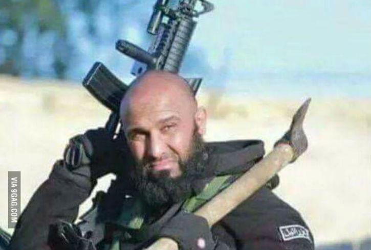 [Vidéo] Irak : Abu Azrael, milicien chiite aux allures de Rambo, « tueur de jihadistes de l'État islamique »