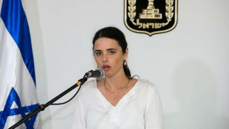 La ministre de la Justice, Ayelet Shaked, veut poursuivre ceux qui boycottent Israël