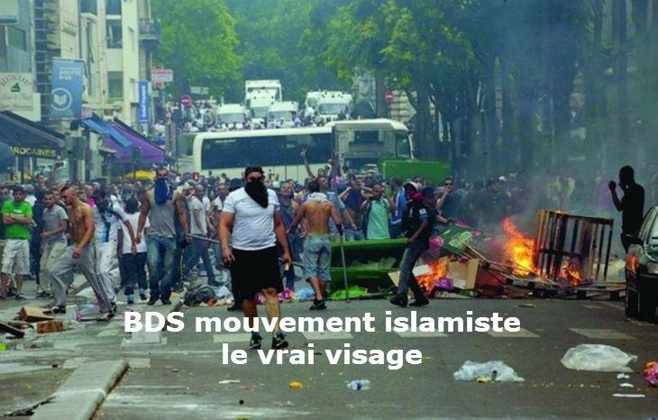 Le vrai but du mouvement BDS soutenu par la gauche «Etablir un Califat islamique en terre de Palestine»… Le même que Daesh !