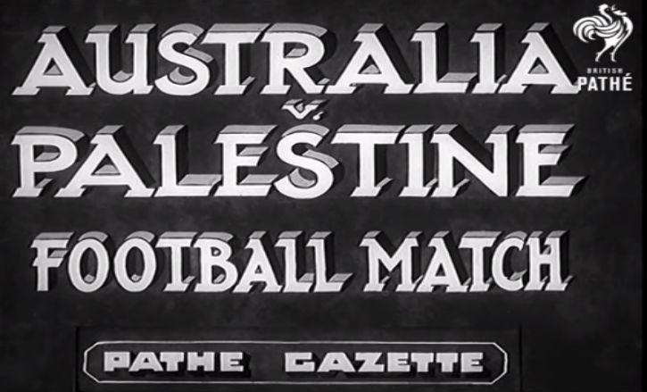En 1939, Le Football Palestinien sous mandat Britannique était Juif pas Arabe