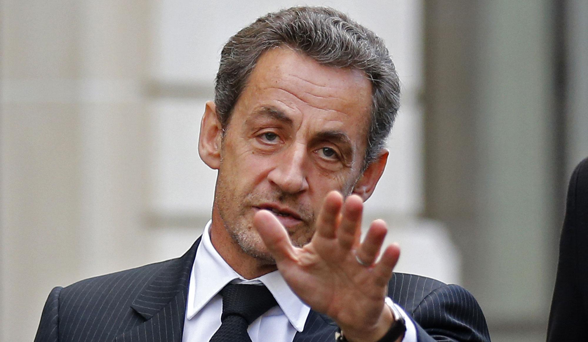 Sarkozy en visite en Israel échoue sur la franchise