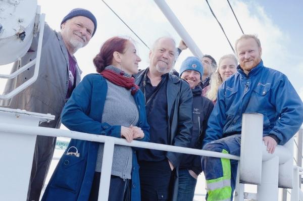 Participants de la Freedom Flotilla Coalition à Palerme