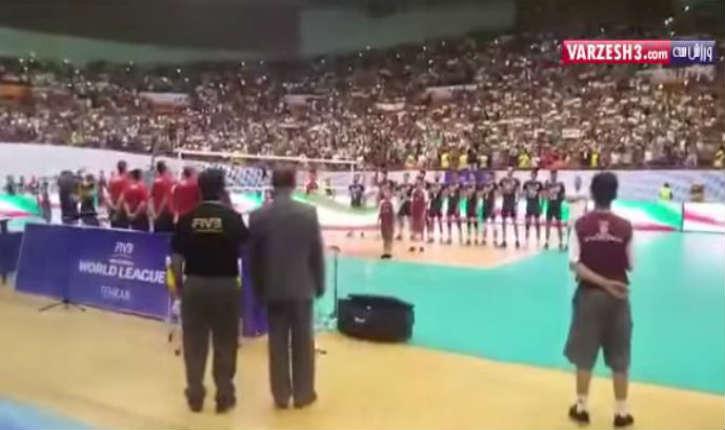 [Vidéo] Téhéran: L'Iran censure l'hymne américain