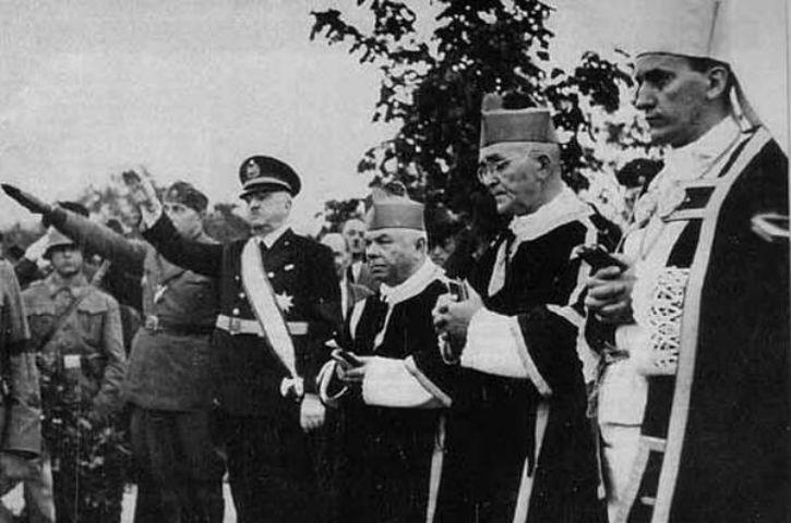 L'archevêque Stepinac et le génocide en Croatie. 1941-1942.