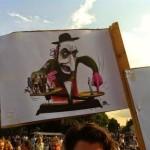 dessin antisémite lors de manifestation de BDS