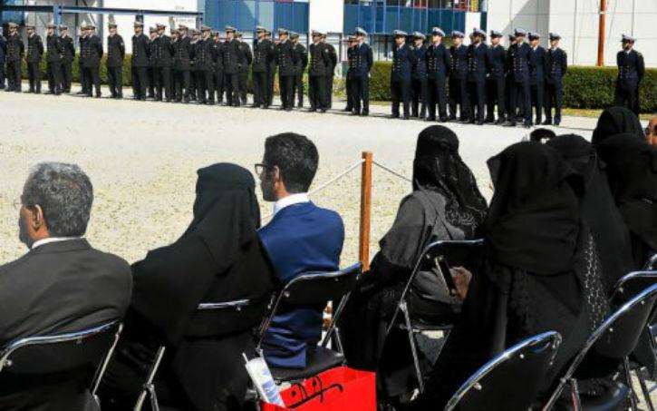 Brest: La présence de femmes totalement voilées en niqab lors d'une cérémonie militaire fait polémique