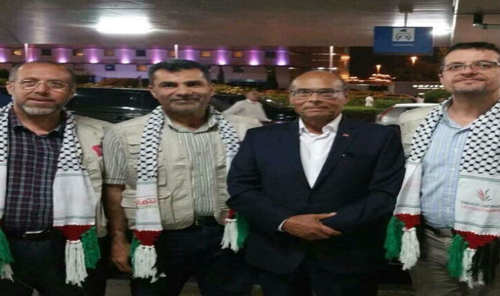Un ex-Président tunisien veut violer la loi internationale et amarrer à Gaza