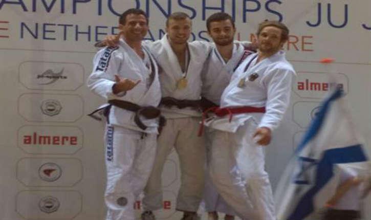 L'athlète Israélien Ron Cohen devient champion d'Europe de Jujitsu
