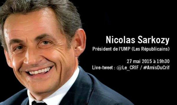 N.Sarkozy : « Aujourd'hui, l'antisémitisme est masqué par l'antisionisme. Il faut dire les choses comme elles sont !»
