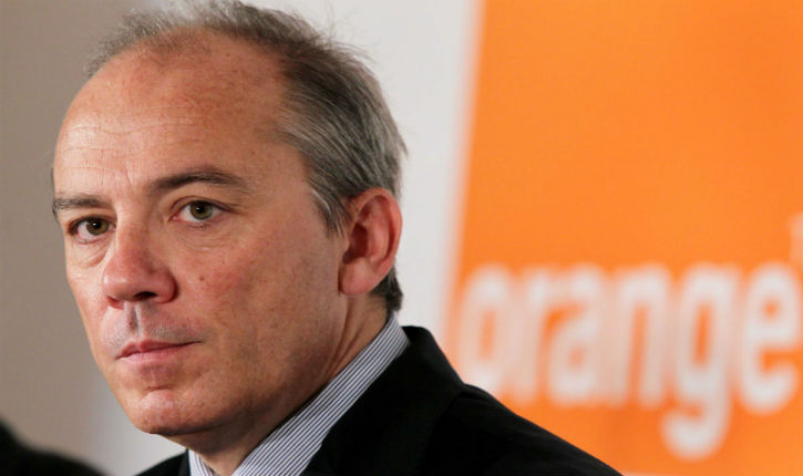 Stéphane Richard PDG d'Orange