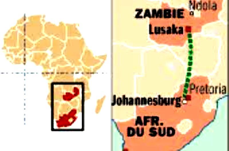 Dans son dernier souffle, la communauté juive de Zambie soutient Israël.