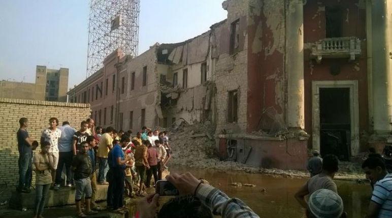 [Vidéo] Égypte : Le consulat d'Italie au Caire détruit par une explosion revendiquée par l'État islamique