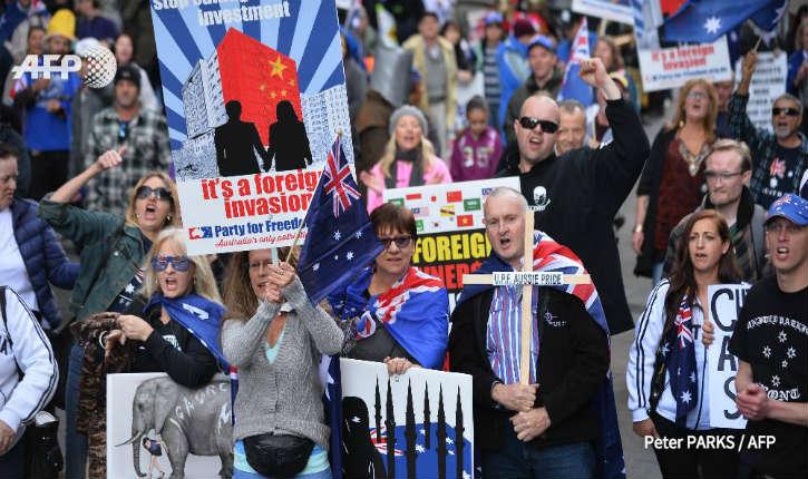 Australie: Manifestations anti-islam «non à la charia», la loi islamique