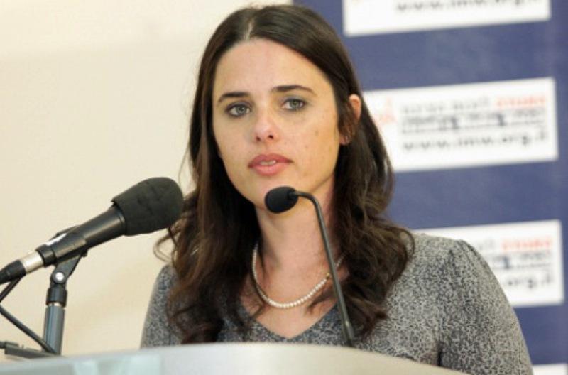 «Ayelet Shaked est le meilleur ministre de la justice qu'Israël ait jamais eu»