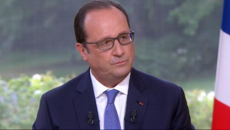 Conférence de presse: Hollande carrément à l'Est