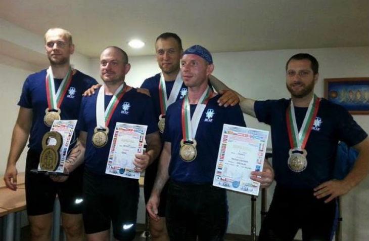Israël remporte 13 médailles au championnat d'Europe de Kettlebell