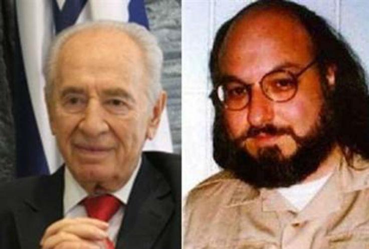 Jonathan Pollar Shimon Peres