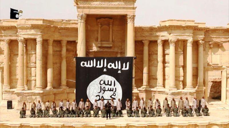 L'EI diffuse une vidéo montrant une exécution de masse à Palmyre