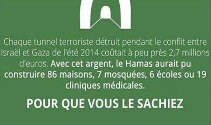 [Vidéo]Le Hamas préfère investir 3 millions de dollars pour la construction d'un tunnel sophistiqué