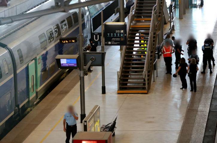 Valence (26) : nouvelle alerte à la bombe dans un TGV , un passager menace de tout faire sauter