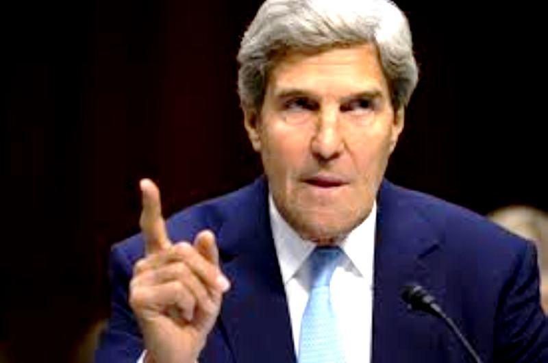 Syrie : Kerry menace Assad d'une intervention terrestre