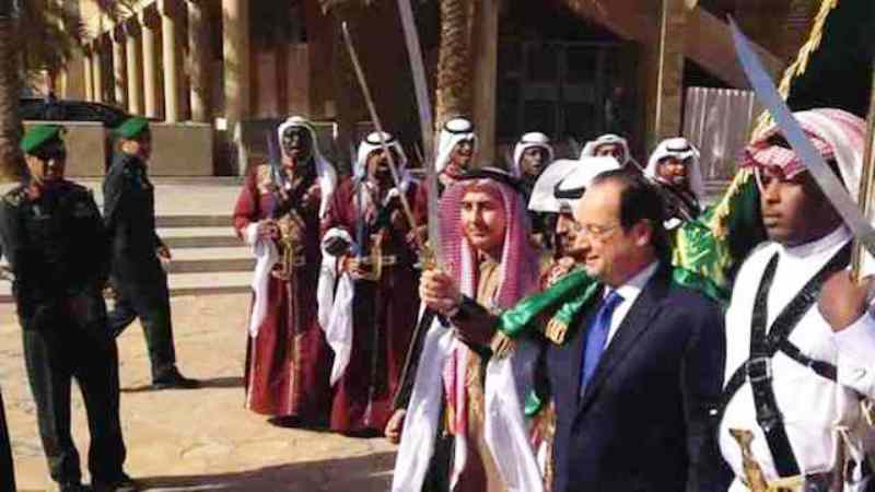 La République française à genoux devant les monarchies arabes