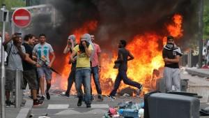 Manifestation islamistes à Sarcelles