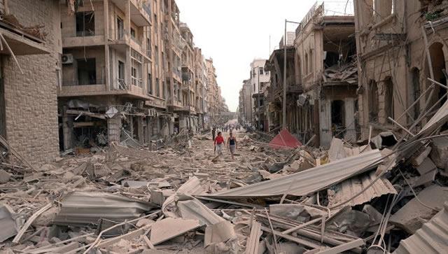 Alep 2015: une vidéo qui permet de prendre conscience des dégâts