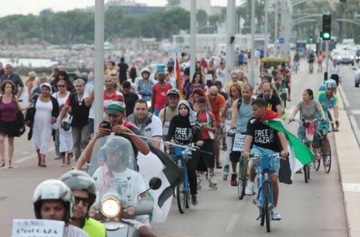 Nice: 60 islamo-gauchistes manifestent pour soutenir les terroristes du Hamas à Gaza