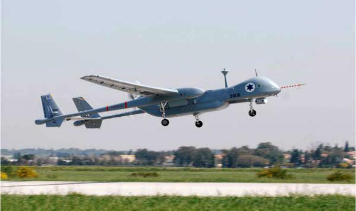 Armement : trois drones de fabrication israélienne pour le Maroc, livrés par Dassault