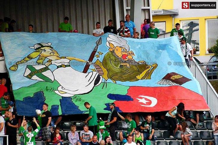 République Tchèque : Vague de banderoles anti-islam
