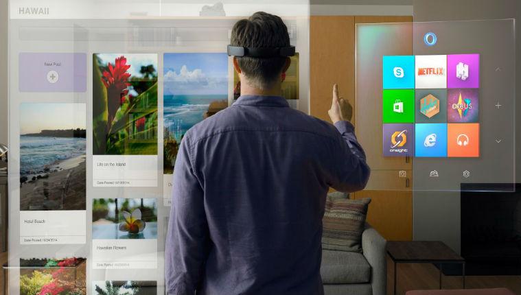 Innovation israélienne: HoloLens, l'étonnant casque de Microsoft qui fait apparaitre des hologrammes autour de vous. Démonstration en vidéo