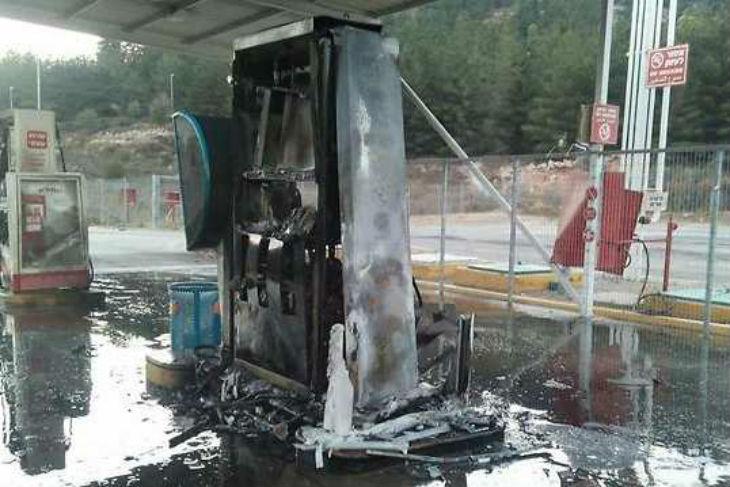 Israël: L'incendie de la station service de la route 60 est bien une attaque terroriste