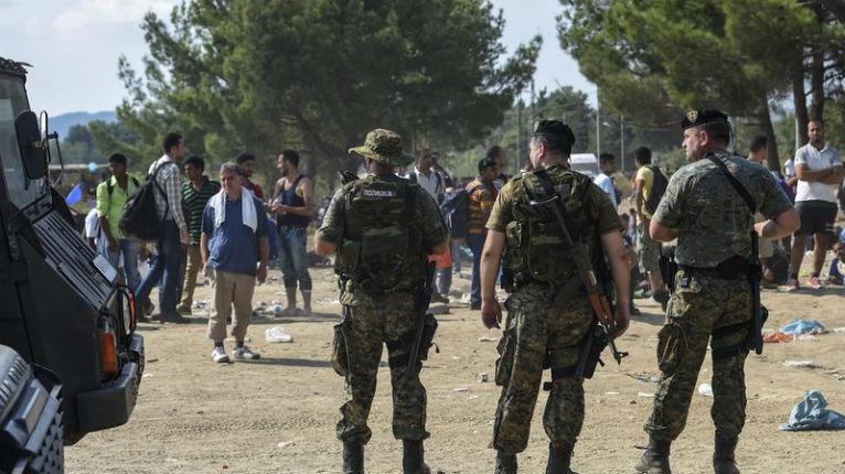 La Macédoine décrète l'état d'urgence face aux migrants et engage l'armée