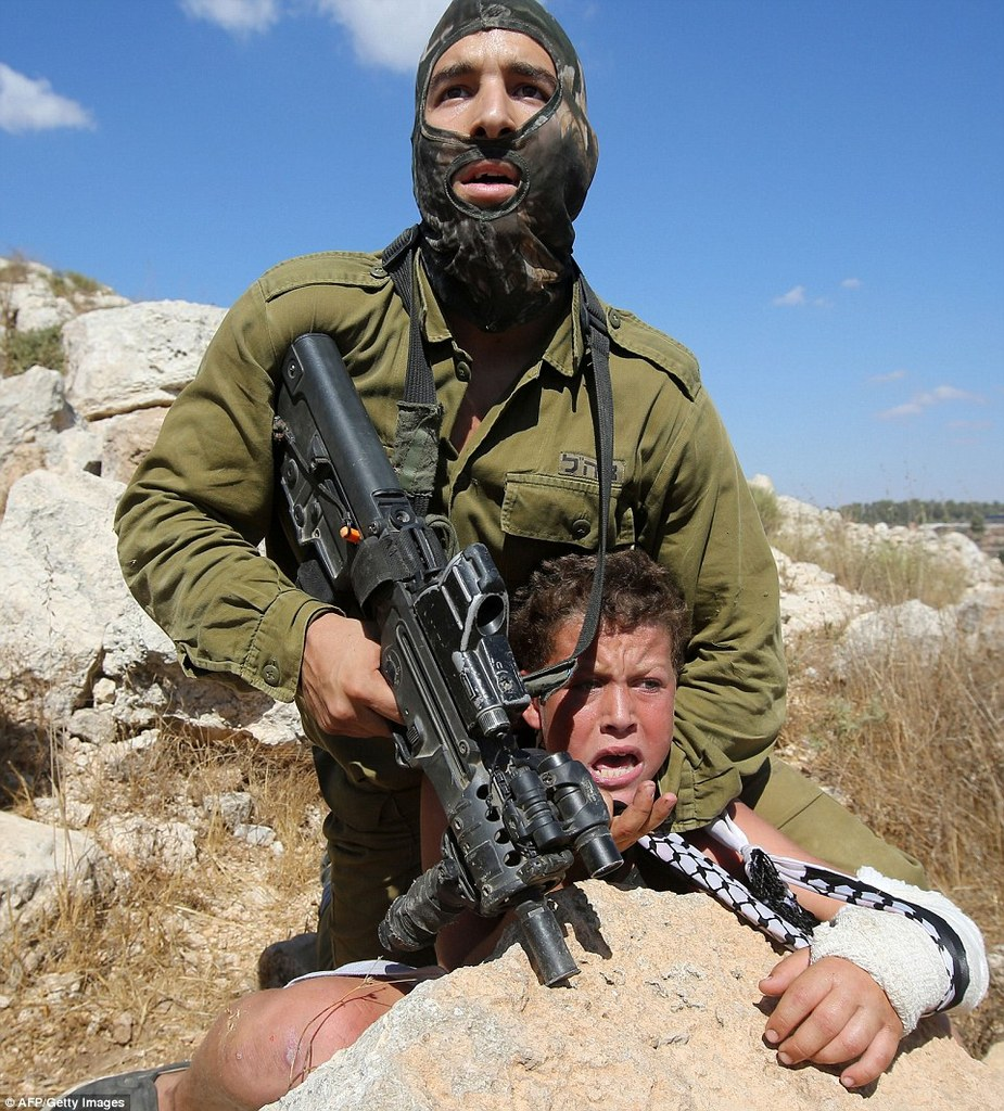 soldat israélien Nabi Saleh